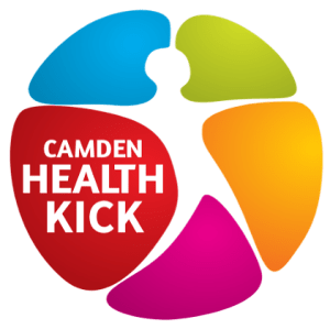 Camden Health Kick logo