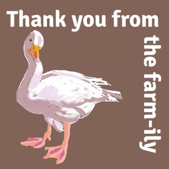 farm gift card goose