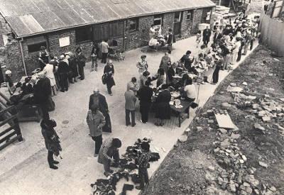 farmyard photo circa 1970's