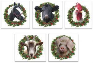 Farm Christmas Cards 2017