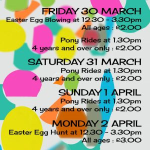Easter Weekend Events Poster