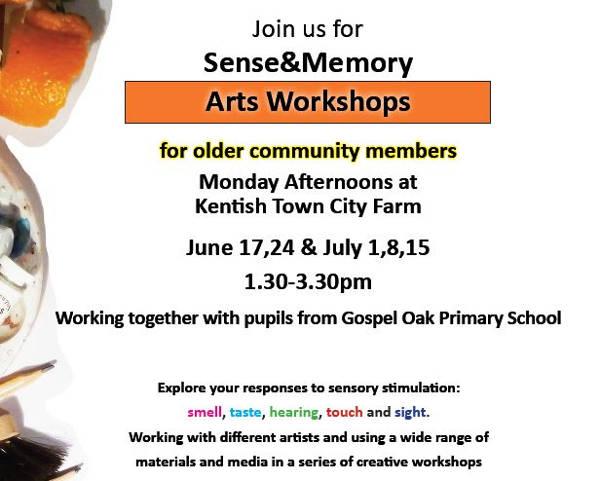 60 plus Sensory Arts