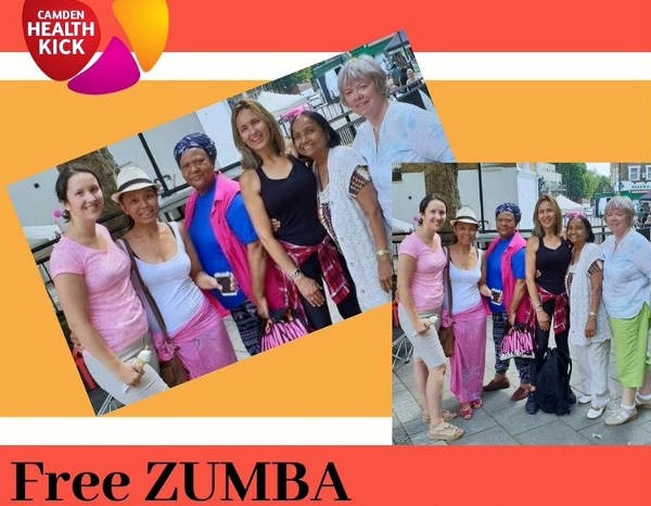 Zumba for adults poster