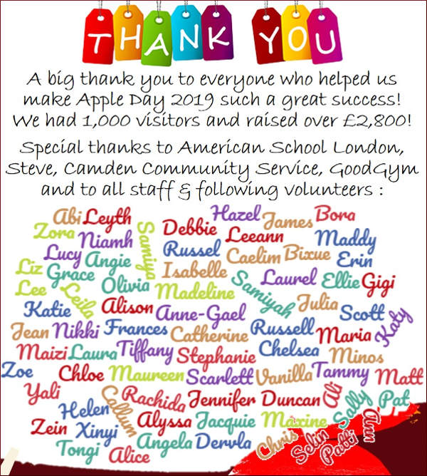 Apple Day Thank You