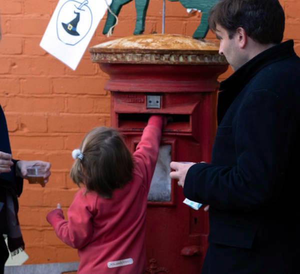 Farm Donation Letter Box