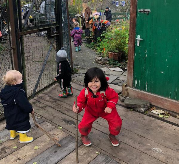Under 5 Garden Explorers club  of Kentish Town City Farm