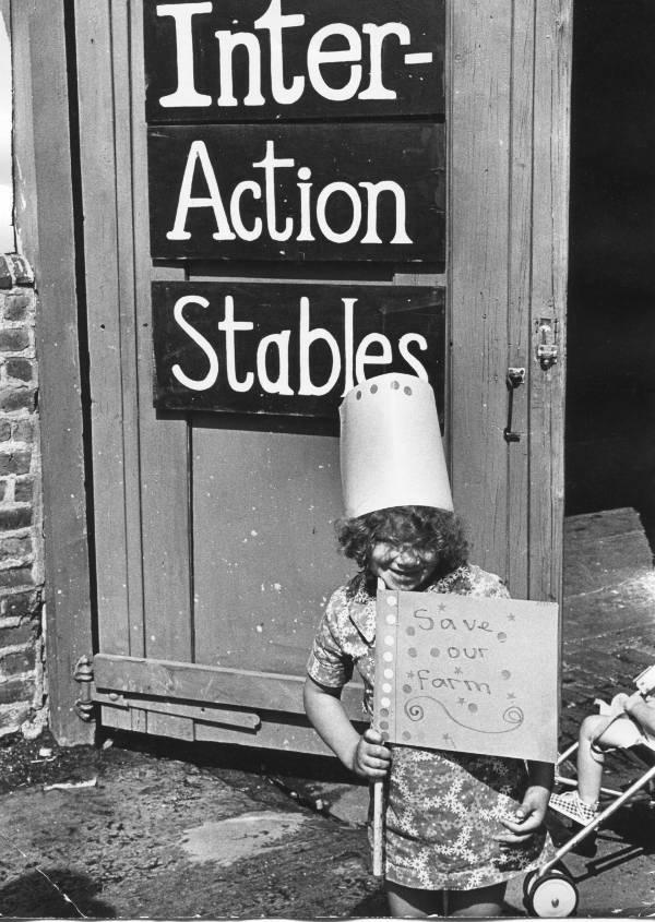 Save our Farm Children's campaign 1970s
