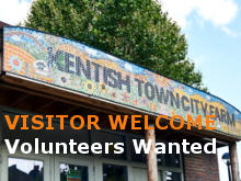 Farm mosaic sign volunteers wanted